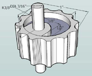 Design concept CAD model (Wheel)